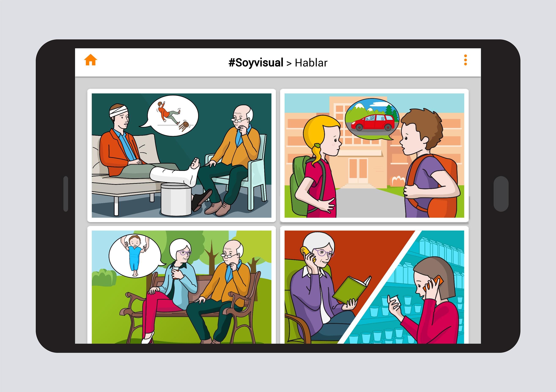 Hablar Nivel 1: Construcción de frases #Soyvisual