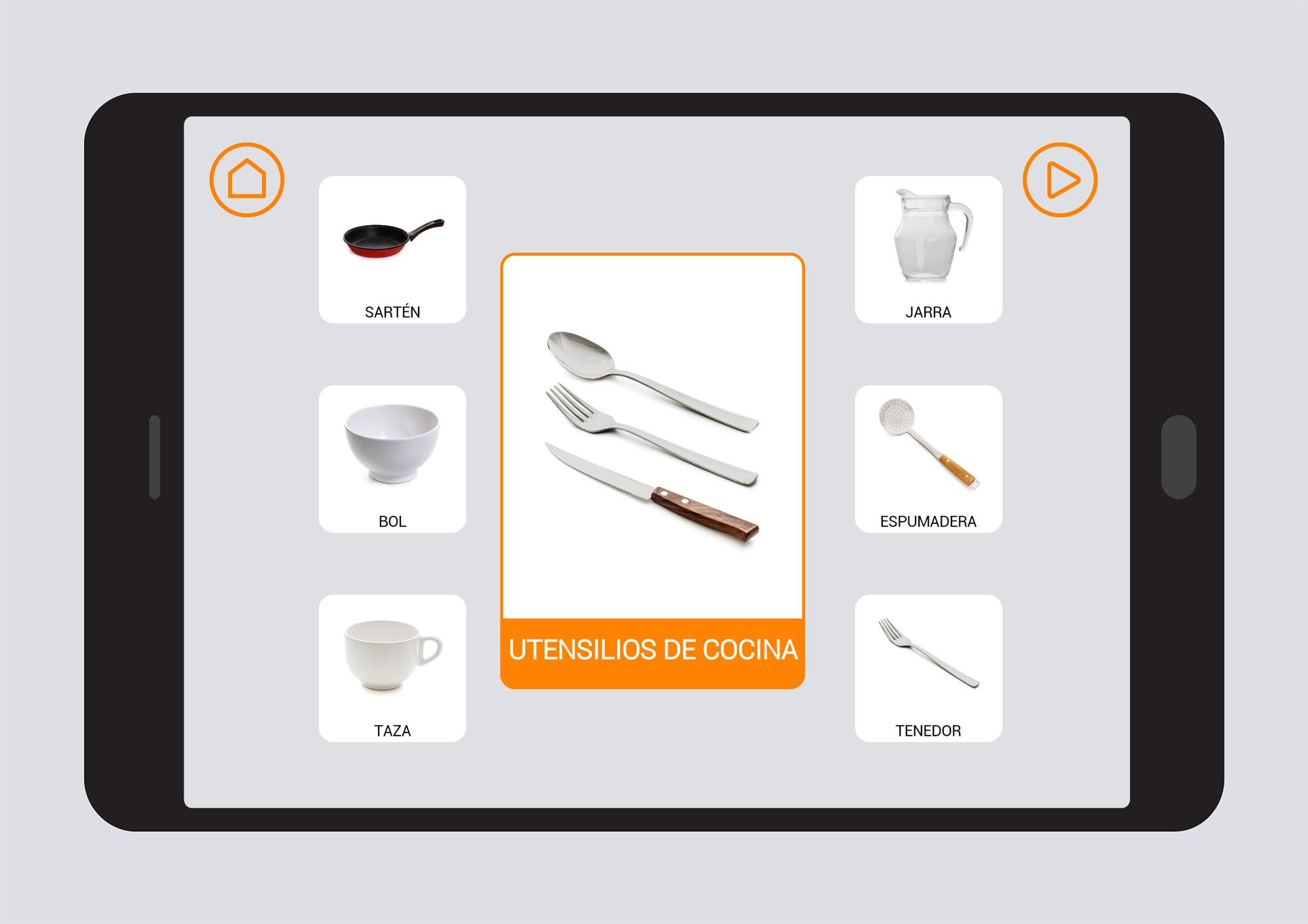 Utensilios de cocina campos sem nticos soyvisual for Colgador utensilios de cocina