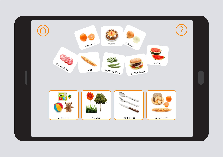 Alimentos. Campos semánticos