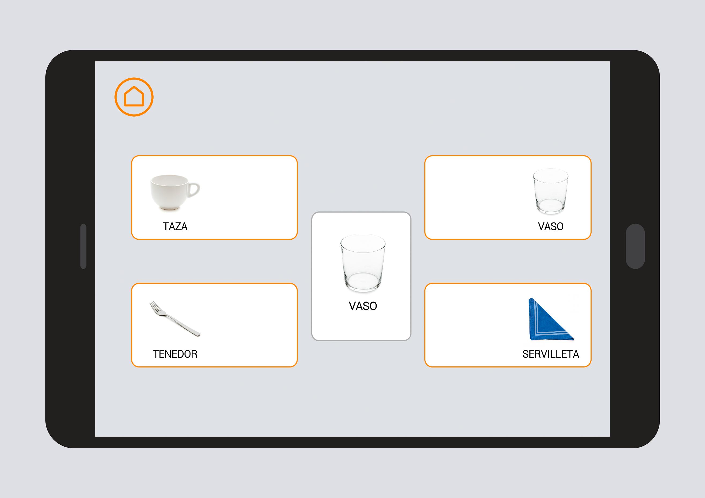 Utensilios de cocina nivel 0 aprendizaje de vocabulario App diseno cocinas