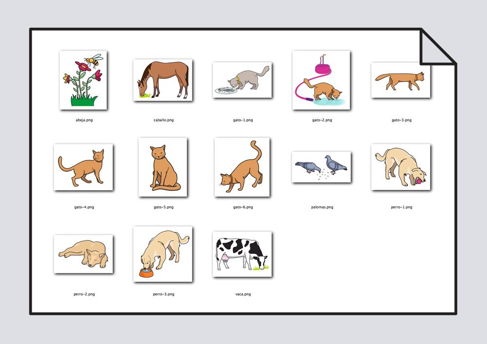 Biblioteca de animales