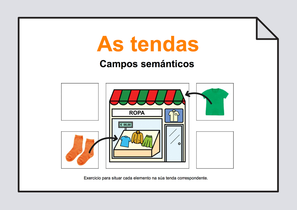 As tendas - Campos semanticos