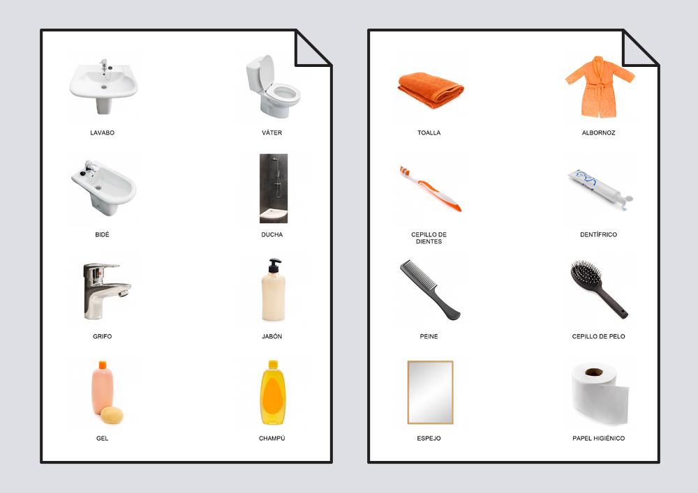Diccionario en imágenes. Baño