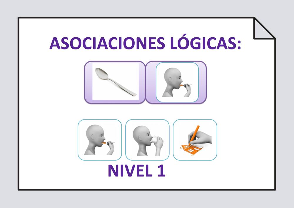 Asociaciones lógicas Acción-Objeto