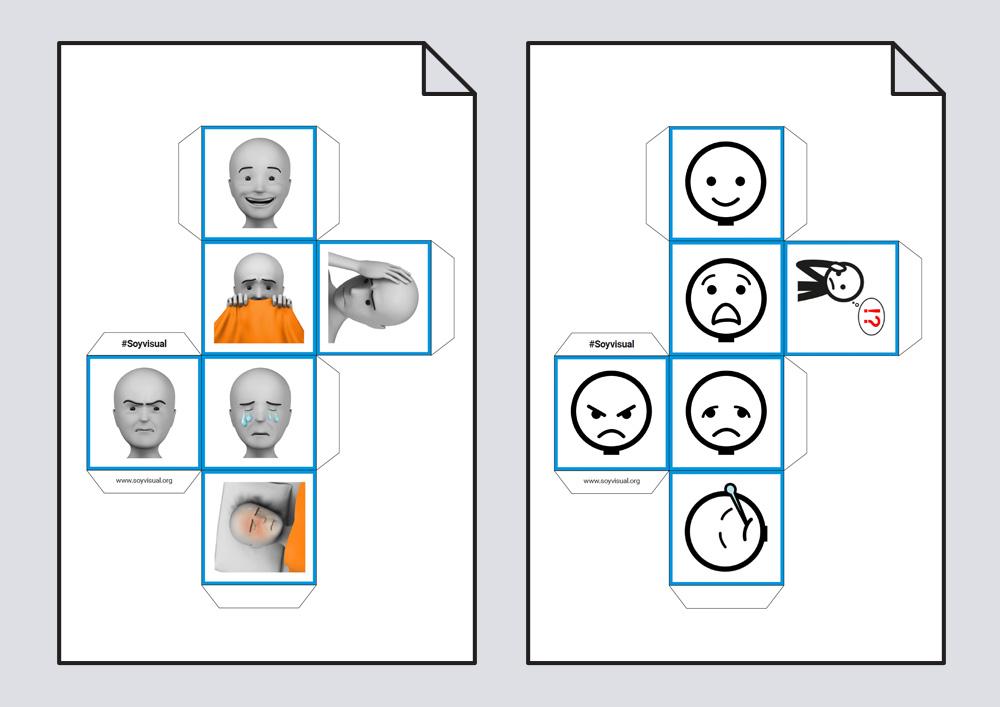 Vamos a aprender emociones con cubos