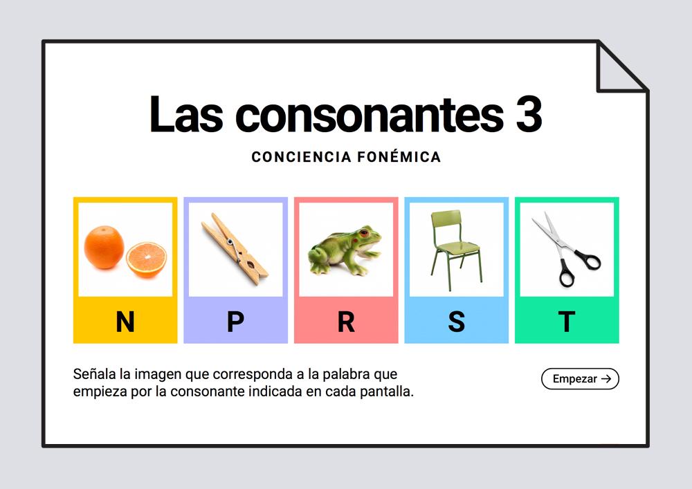 Las consonantes