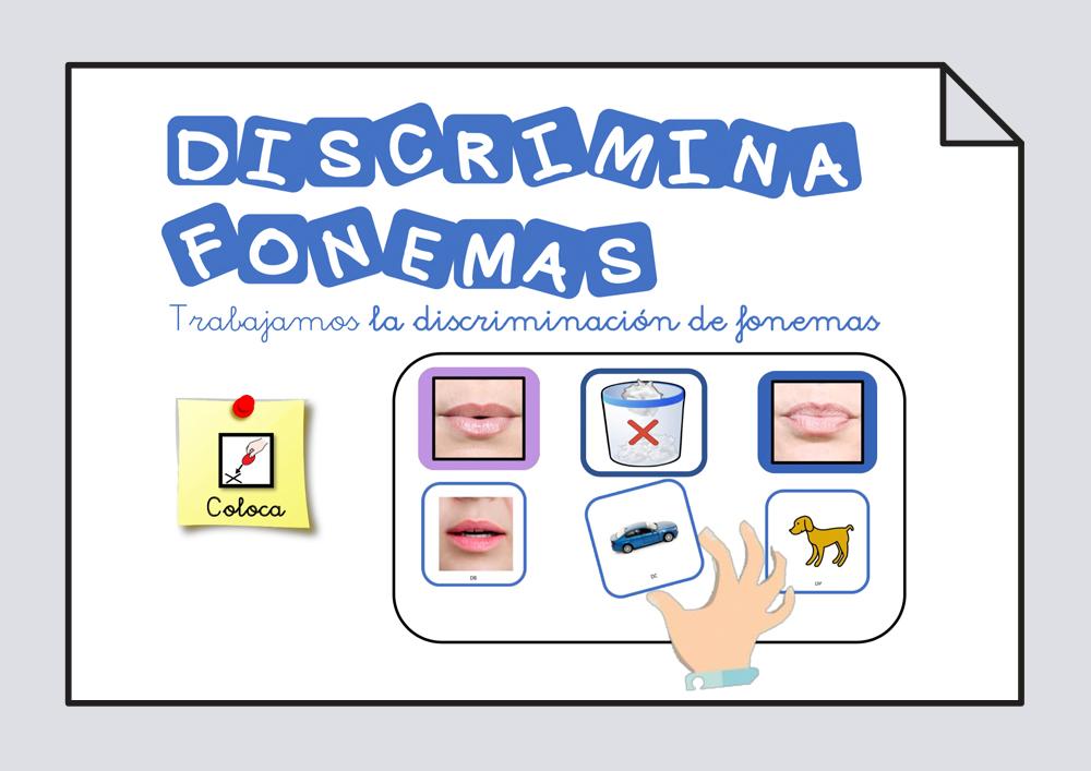 Discriminamos fonemas