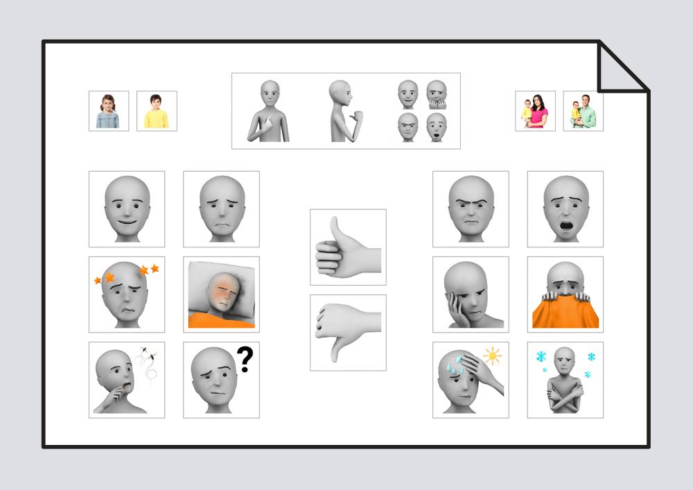 Tablero de comunicación - Emociones