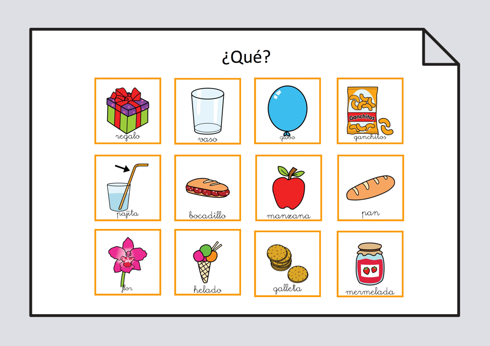 Láminas y tarjetas para trabajar la estructuración de frases