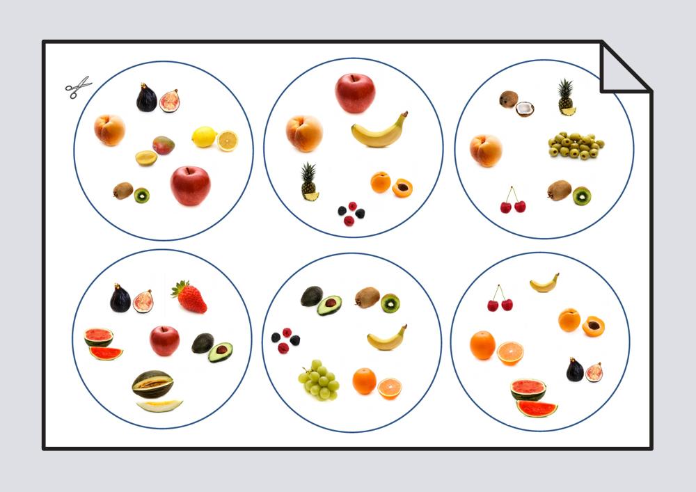 Juego de frutas