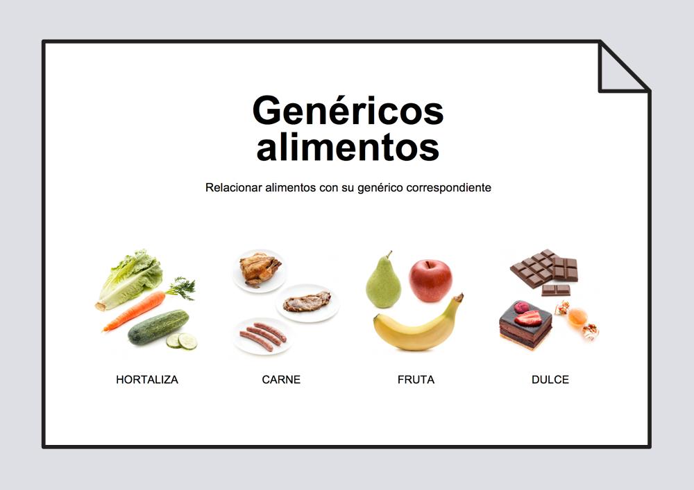 Genéricos alimentos