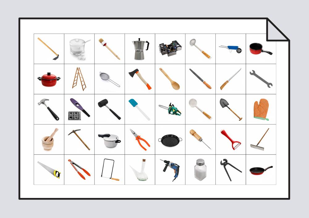 Herramientas y utensilios de cocina