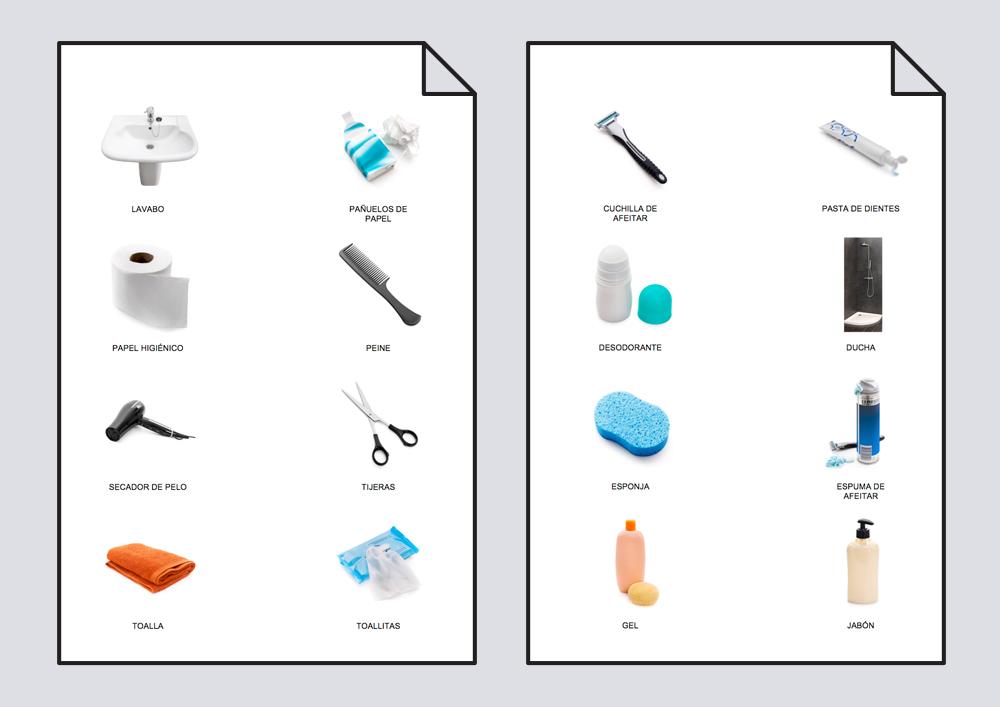 Diccionario en imágenes. Higiene