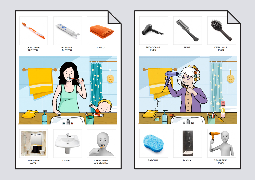 Diccionario En Imágenes. Higiene: Diccionario #Soyvisual