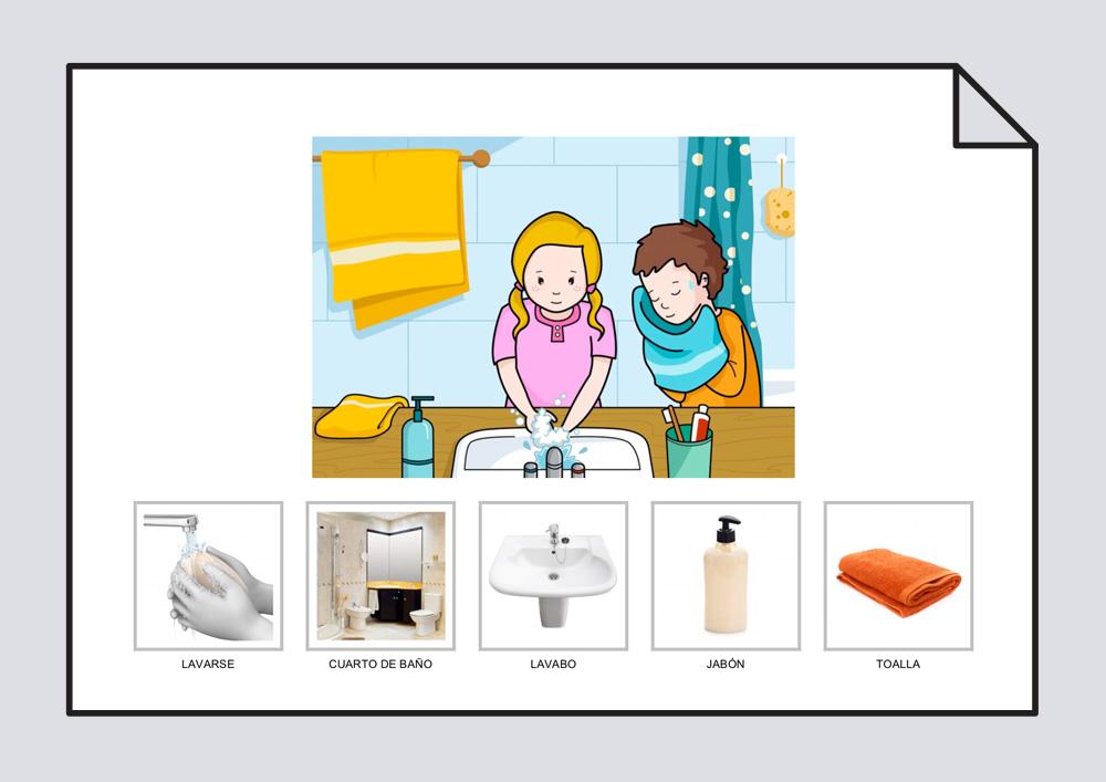 Ilustración higiene personal