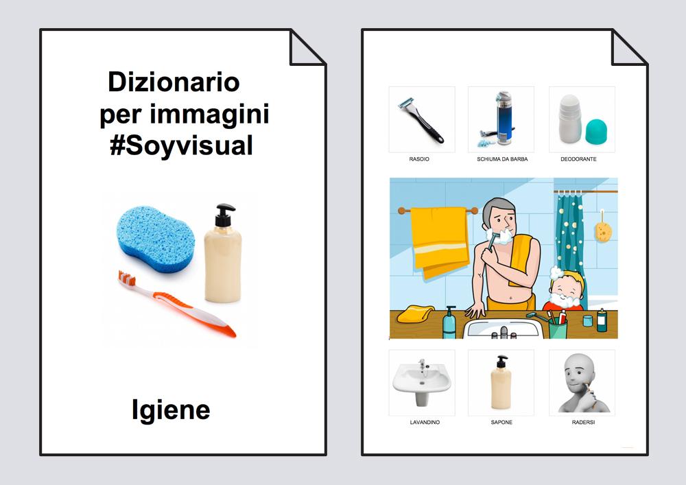 Dizionario per immagini. Igiene