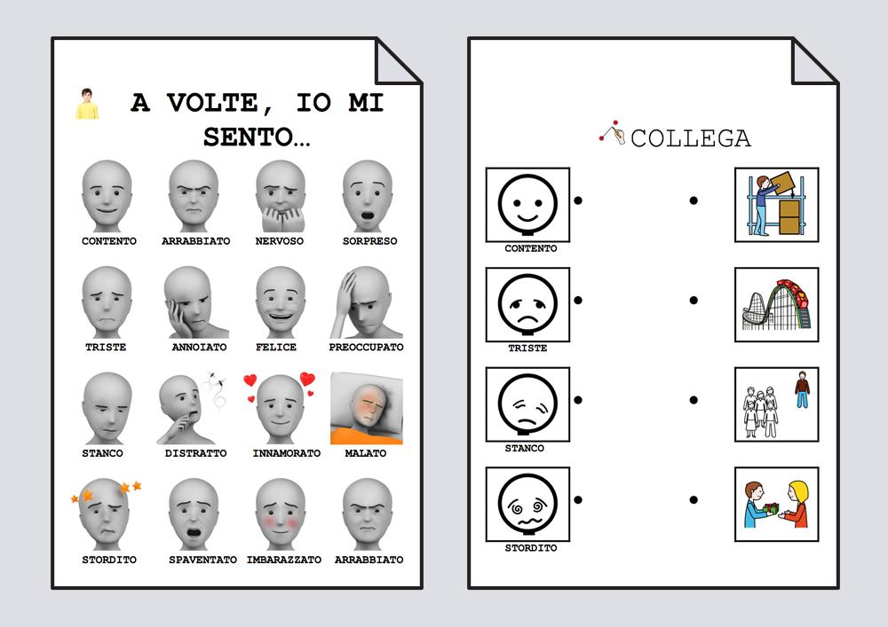 Imparare a conoscere le emozioni e i sentimenti