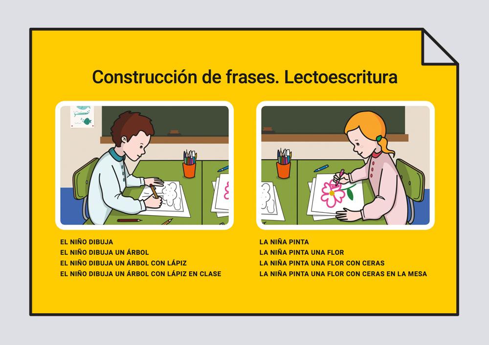 Construcción de frases. Lectoescritura