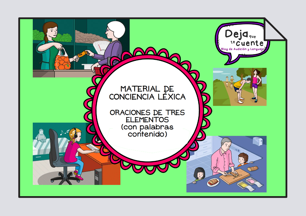 Conciencia léxica - Oraciones de tres elementos
