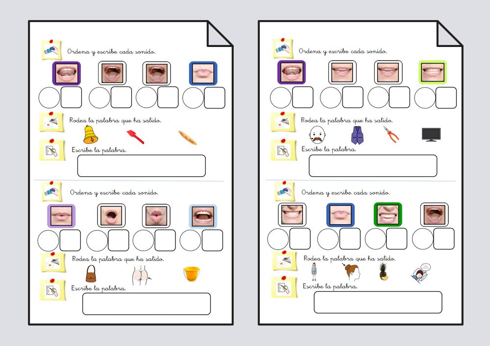 Ordenar fonemas