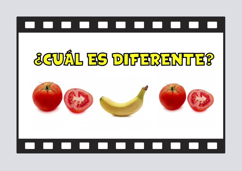 ¿Cuál es diferente? - Vídeo