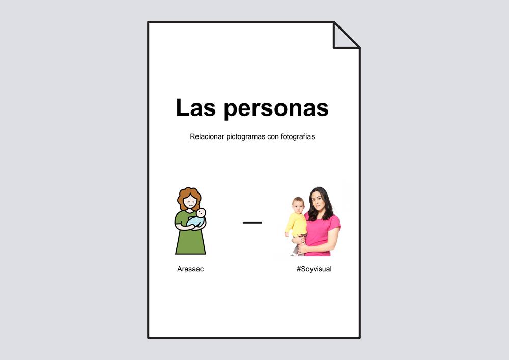 Material para hacer relaciones: Las Personas