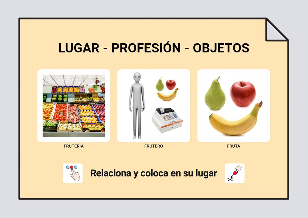 Lugar-Profesión-Objetos