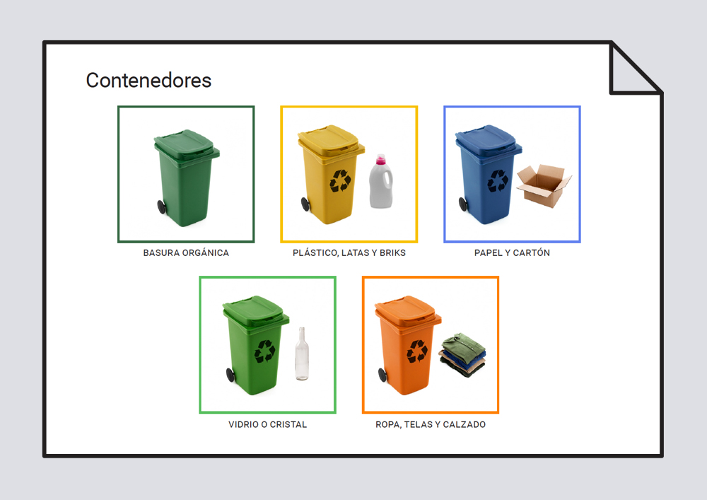 Reciclar - Vocabulario