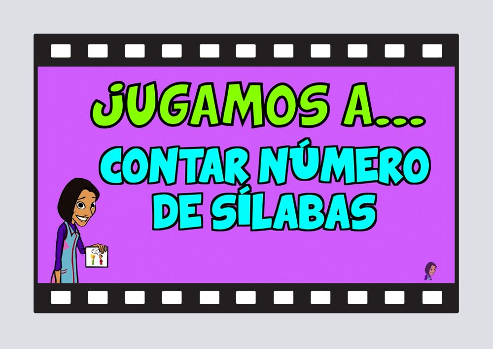 Jugamos a contar el número de sílabas con objetos del Colegio