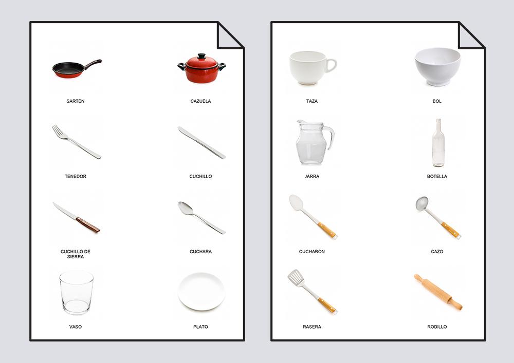 Diccionario en imágenes. La Cocina