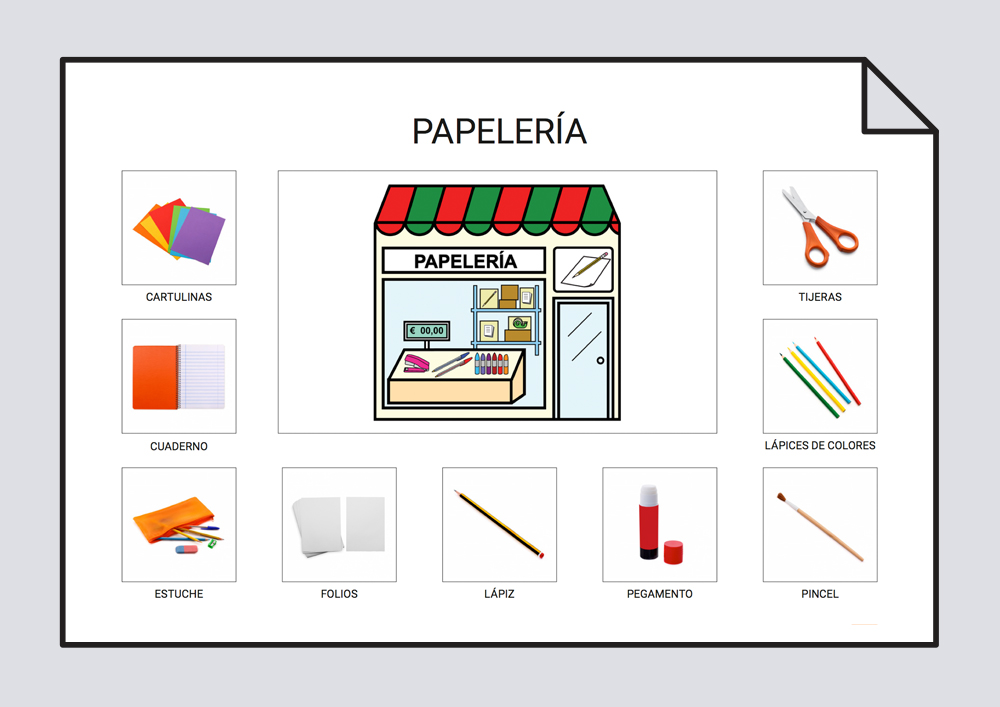 Las tiendas - Vocabulario