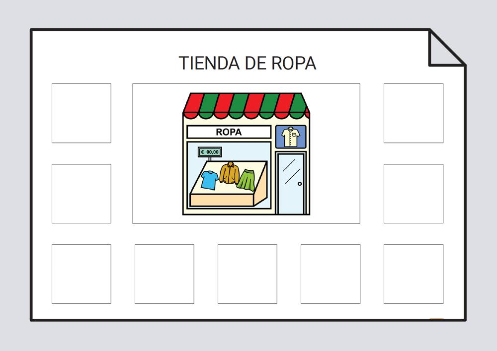 Las tiendas - Campos semánticos