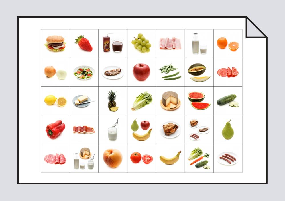 Clasificaci n de vocabulario alimentos vocabulario for La cocina de los alimentos pdf