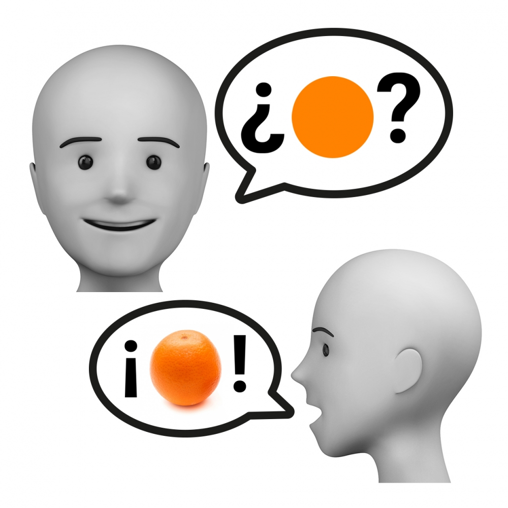 Imagen del verbo adivinar