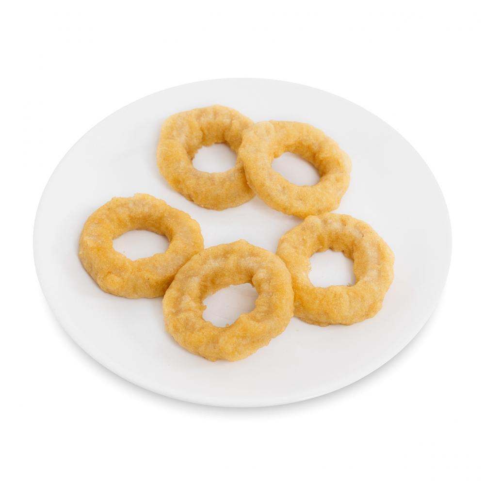 Imagen en la que se ve un plato de calamares a la romana