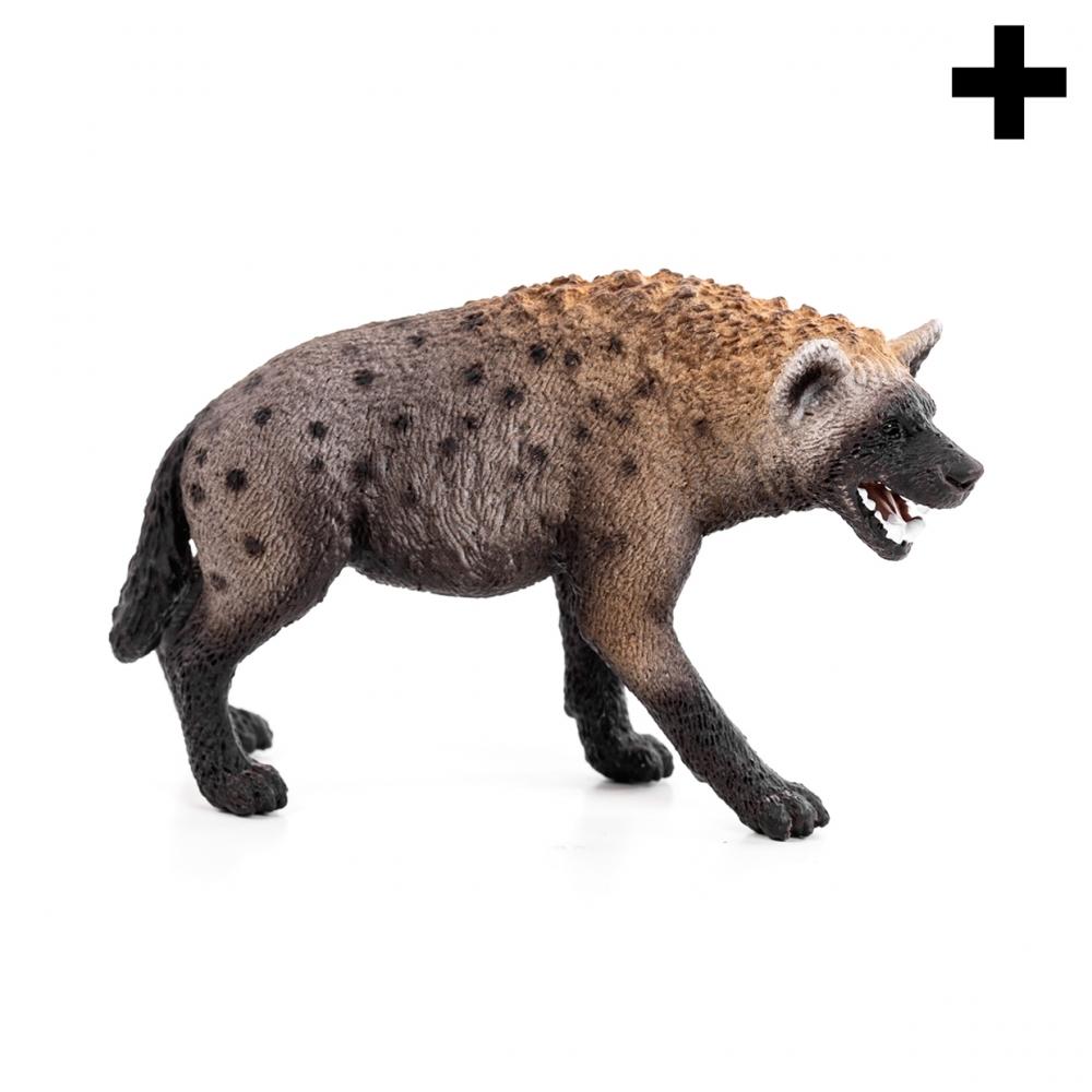 Imagen en la que se ve el plural del concepto hiena