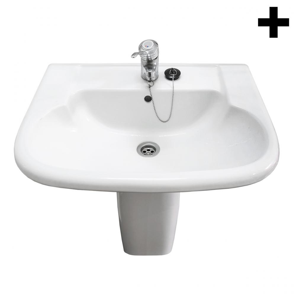 Imagen en la que se ve el plural del concepto lavabo