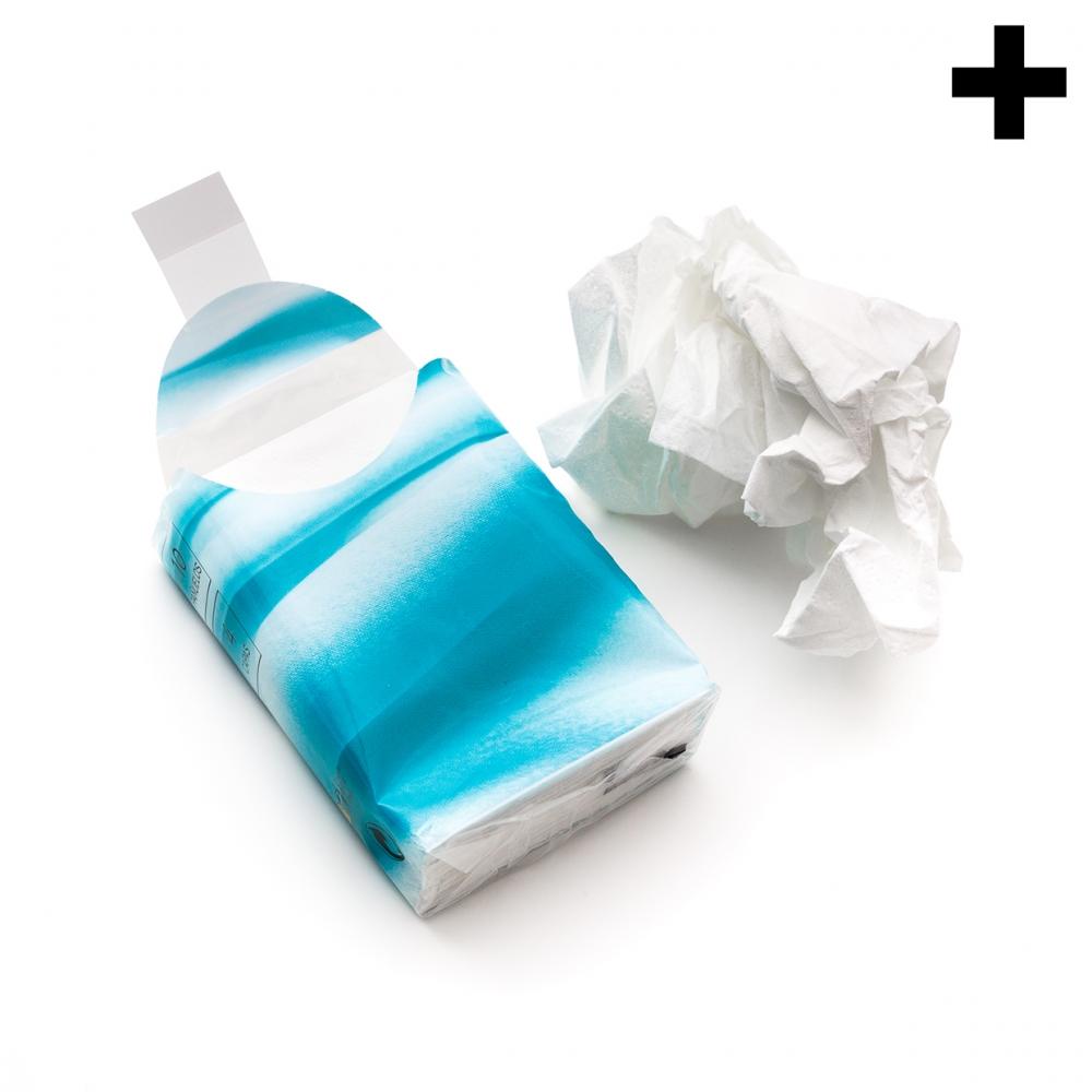 Imagen en la que se ve el plural del concepto pañuelo de papel