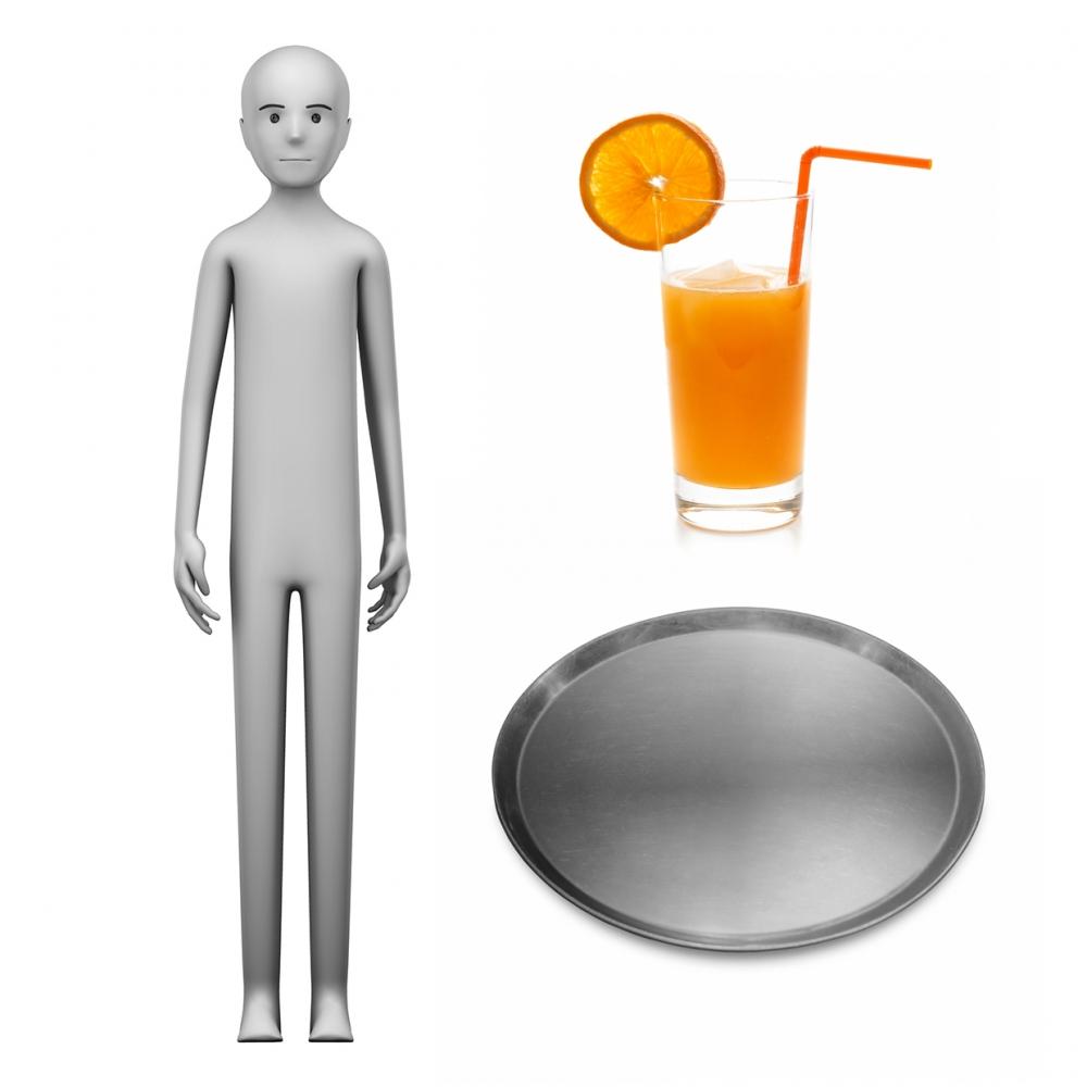 Imagen en la que se ve el concepto de camarero o camarera