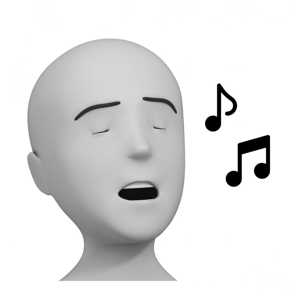 Imagen del verbo cantar