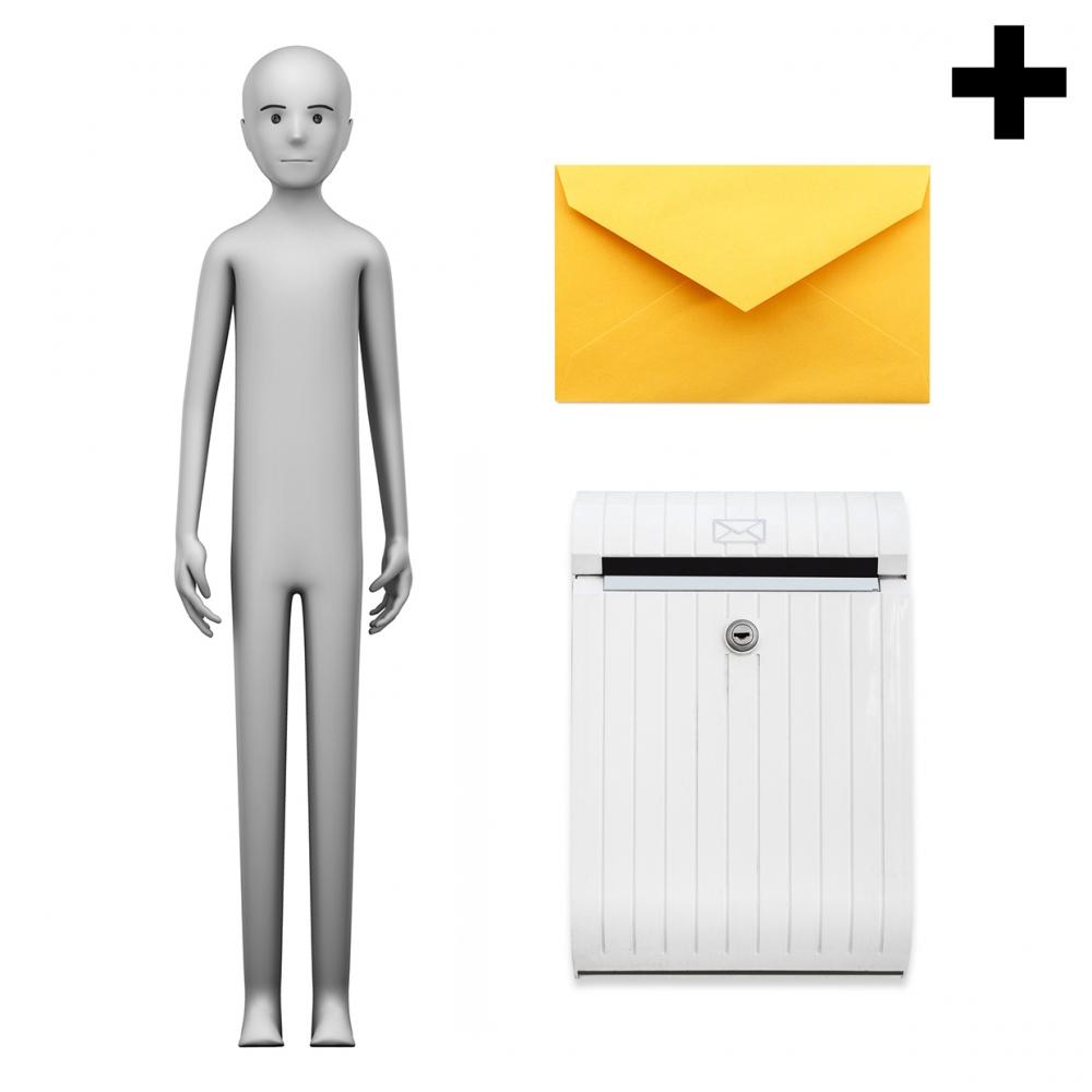 Imagen en la que se ve el plural del concepto cartero o cartera