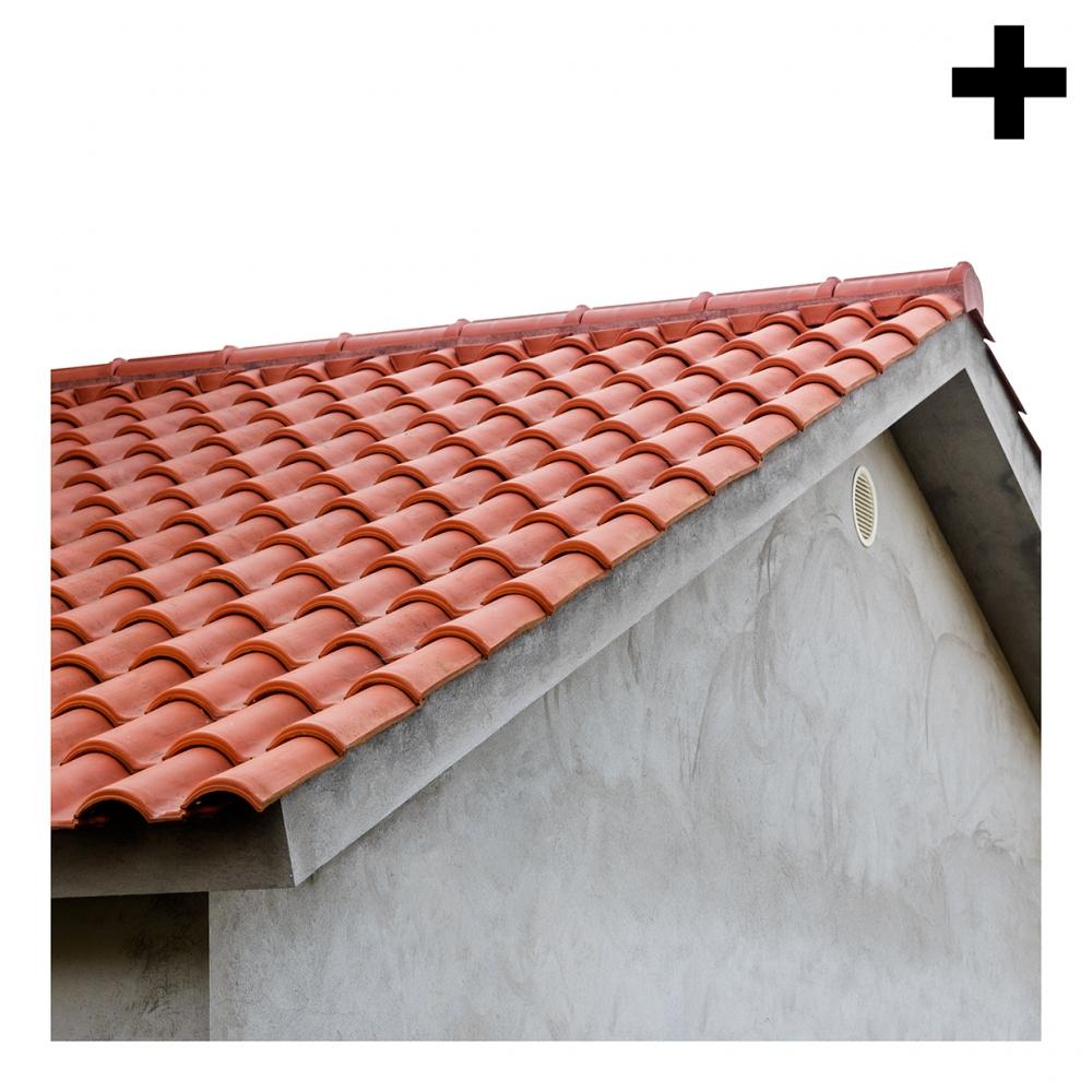 Imagen en la que se ve el plural del concepto tejado