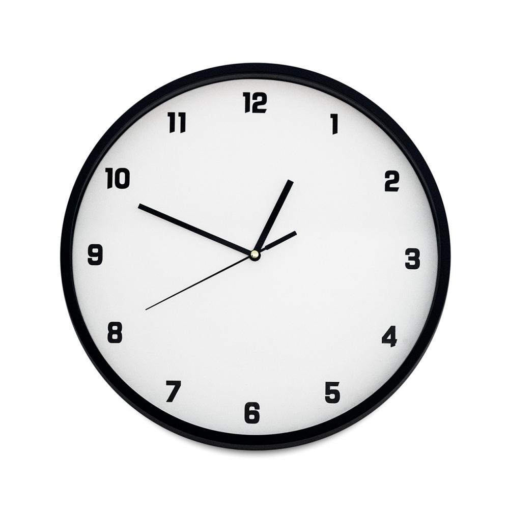 Imagen en la que se ve un reloj de pared