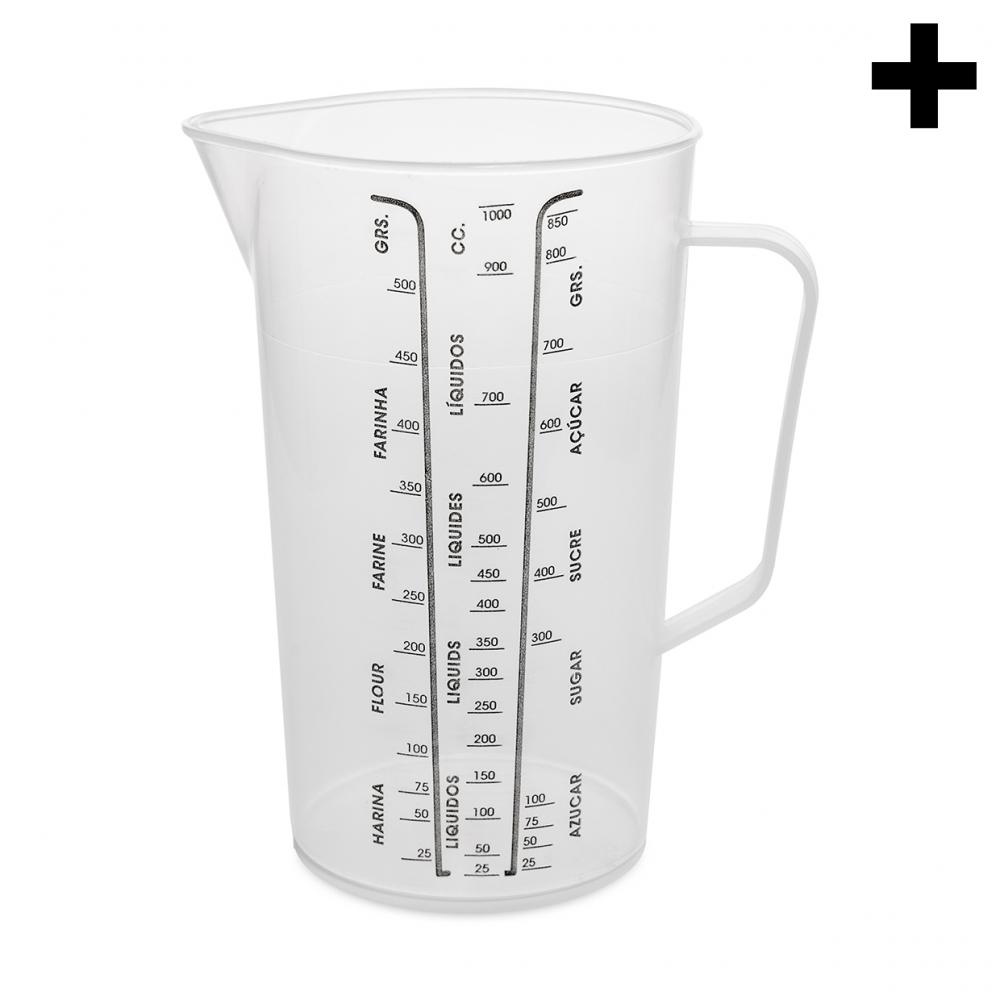 Imagen en la que se ve el plural del concepto jarra medidora