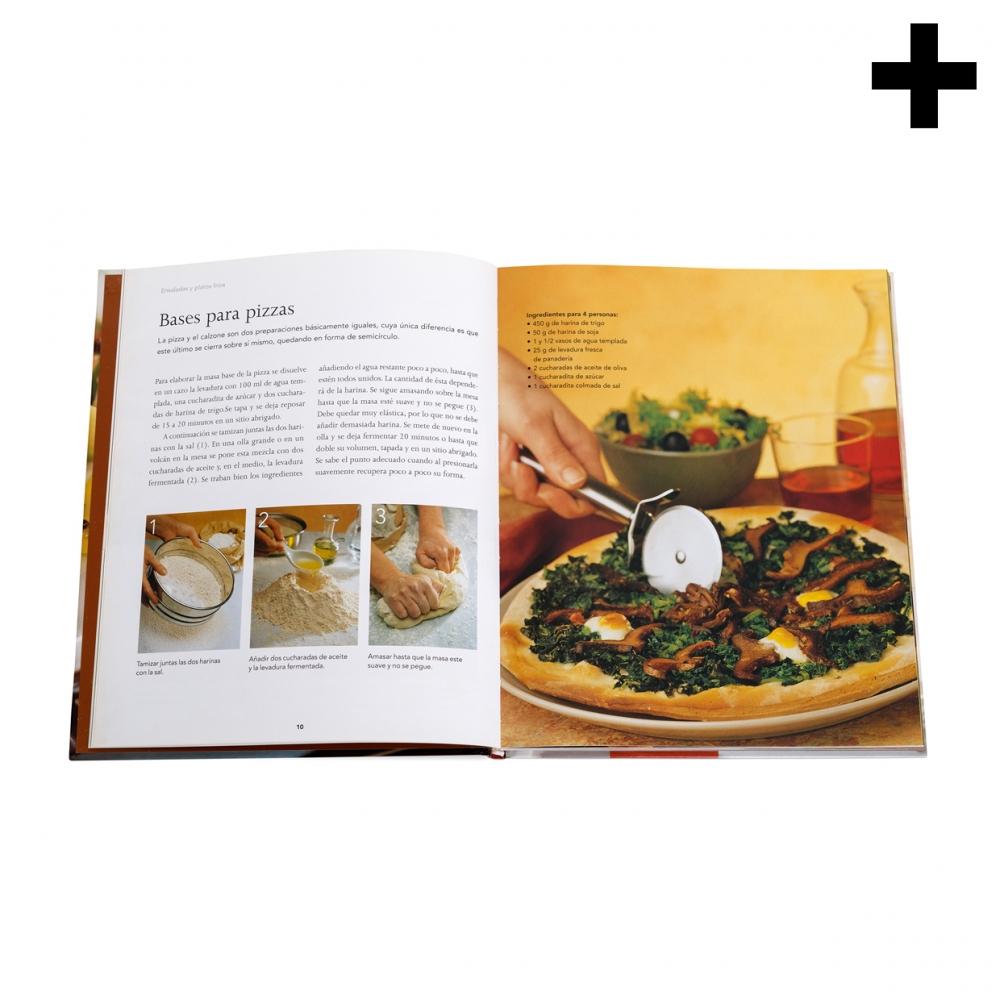 Imagen en la que se ve el plural del concepto libro de recetas