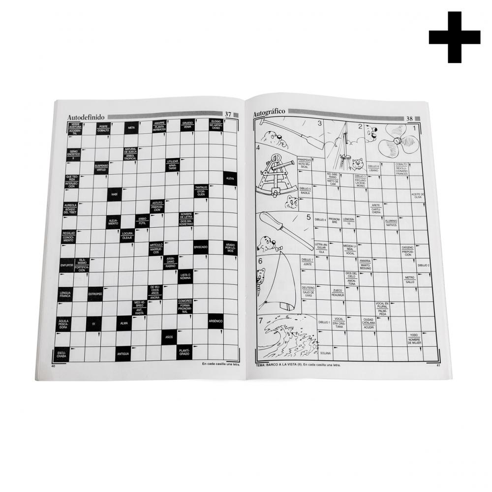 Imagen en la que se ve el plural del concepto revista de crucigramas
