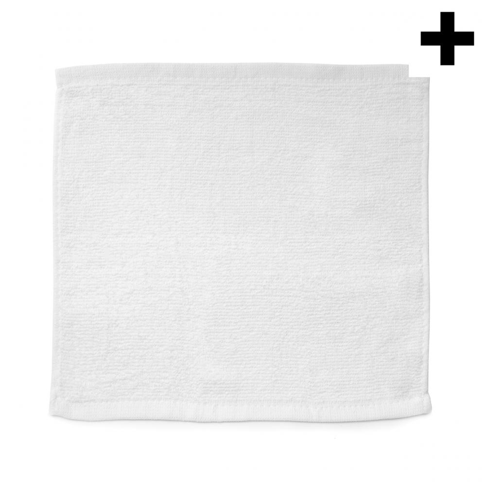 Imagen en la que se ve un trapo blanco limpio y sin manchas