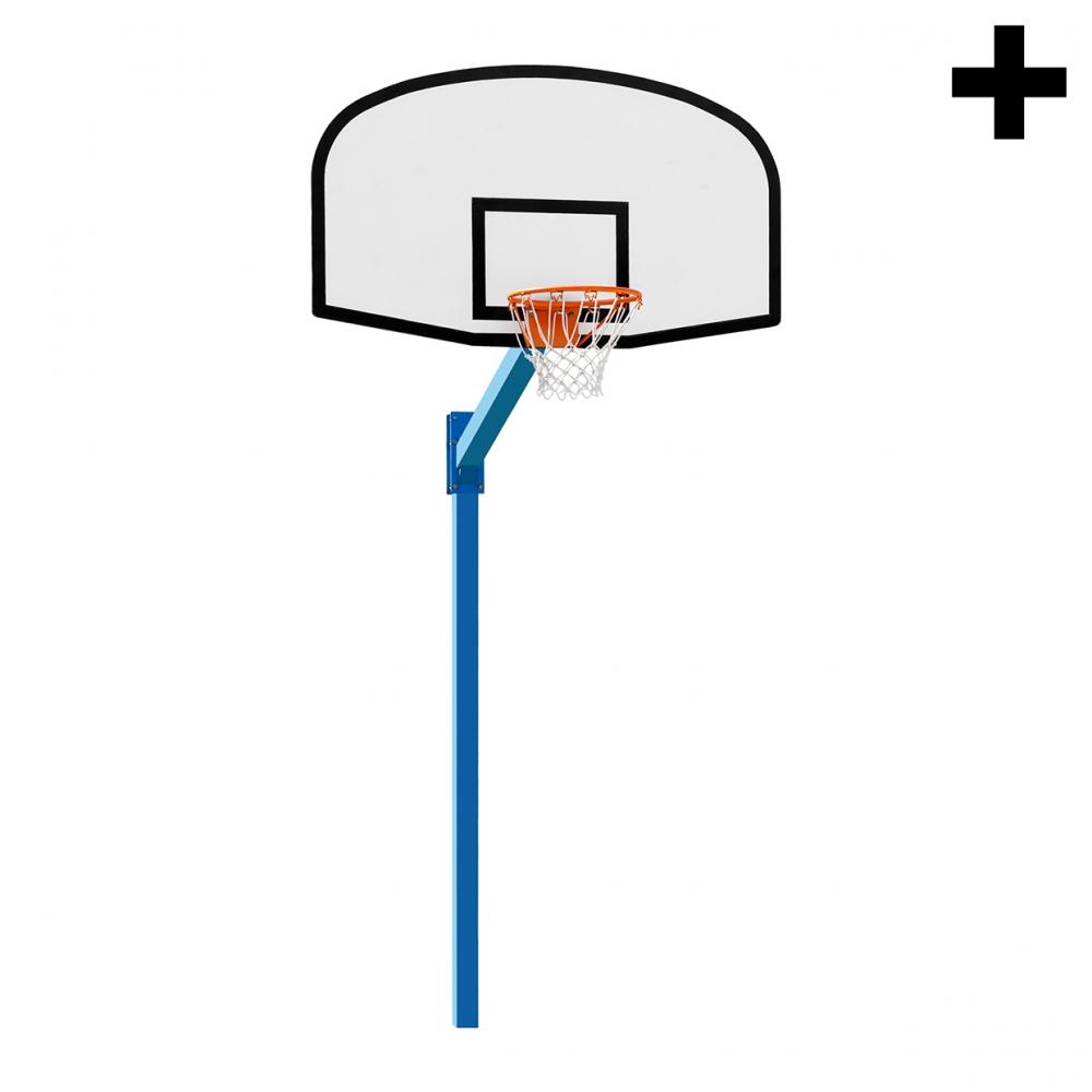 Imagen en la que se ve el plural del concepto canasta de baloncesto