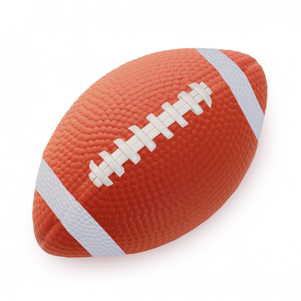 Imagen en la que se ve una pelota de rugby
