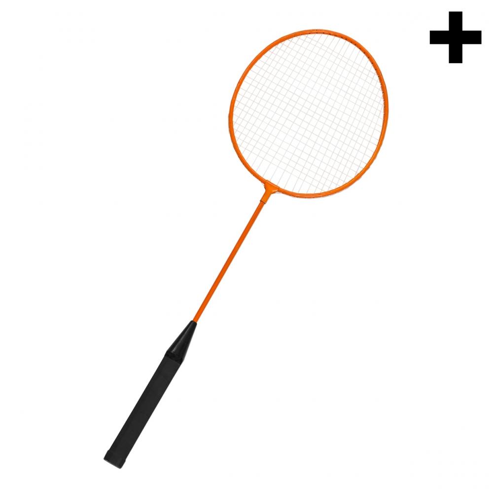 Imagen en la que se ve el plural del concepto raqueta de bádminton